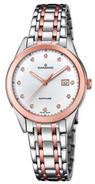Candino Damenuhr C4617/3 Armbanduhr Saphirglas Swiss Made