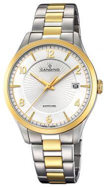 Candino Herrenuhr Armbanduhr C4631/1 Bicolor Swiss Made