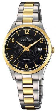 Candino Damenuhr C4632/2 Bicolor Armbanduhr Swiss Made
