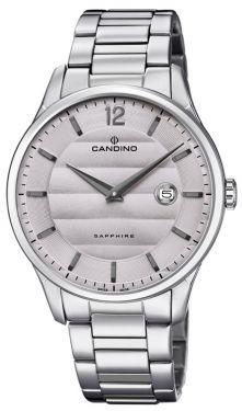 Candino Herrenuhr Armbanduhr C4637/2 Edelstahl Swiss Made