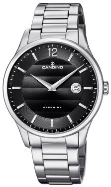 Candino Herrenuhr Armbanduhr C4637/4 Edelstahl Swiss Made