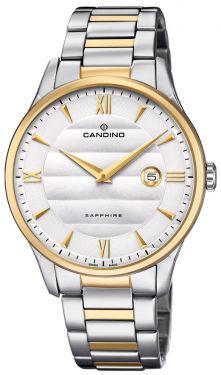 Candino Herrenuhr Armbanduhr C4639/1 Bicolor Swiss Made