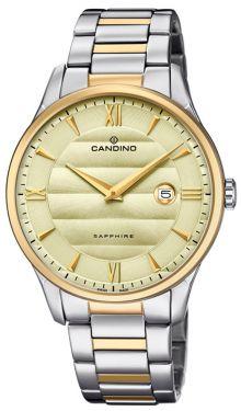 Candino Herrenuhr Armbanduhr C4639/2 Bicolor Swiss Made