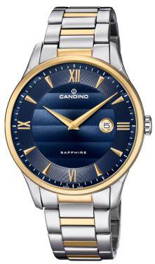 Candino Herrenuhr Armbanduhr C4639/3 Bicolor Swiss Made