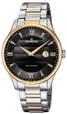 Candino Herrenuhr Armbanduhr C4639/4 Swiss Made