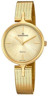 Candino Damenuhr C4644/1 Armbanduhr Edelstahl golden