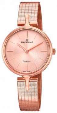 Candino Damenuhr C4645/1 Armbanduhr rosegolden