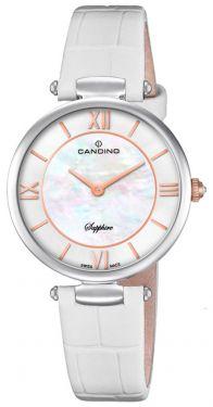 Candino Damenuhr C4669/1 Armbanduhr Lederarmband