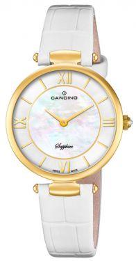 Candino Damenuhr C4670/1 Armbanduhr Lederarmband