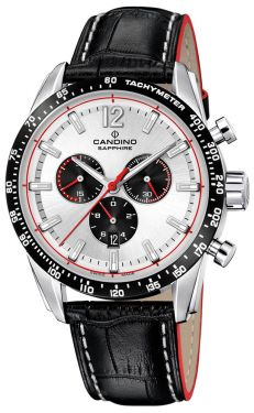 Candino Herrenuhr Sport Chronograph Lederarmband C4681/1