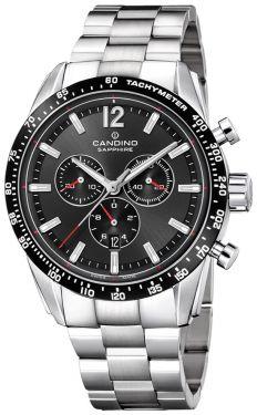 Candino Herrenuhr Sport Edelstahl Chronograph C4682/3