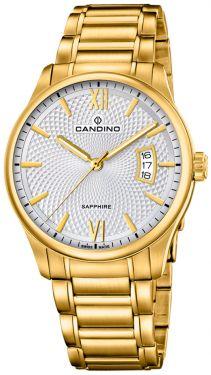 Candino Herren Armbanduhr C4692/1 Swiss Made Saphirglas