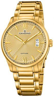 Candino Herren Armbanduhr C4692/2 Swiss Made Saphirglas