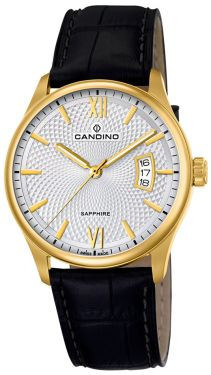 Candino Herren Armbanduhr C4693/1 Lederarmband