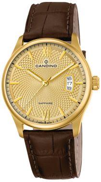 Candino Herren Armbanduhr C4693/2 Lederarmband