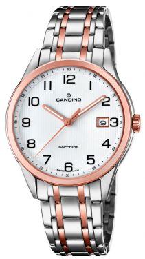 Candino Herrenuhr Armbanduhr C4616/1 Saphirglas Swiss Made
