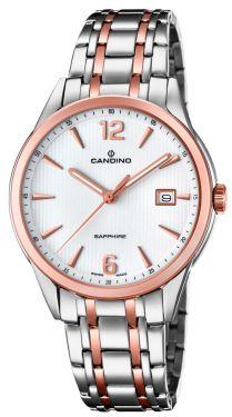Candino Herrenuhr Armbanduhr C4616/2 Saphirglas Swiss Made