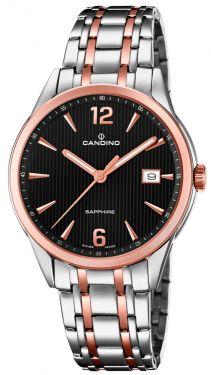 Candino Herrenuhr Armbanduhr C4616/3 Saphirglas Swiss Made
