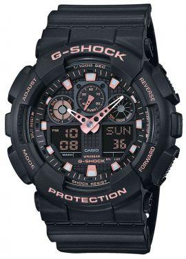 Casio G-Shock Armbanduhr Herrenuhr GA-100GBX-1A4ER