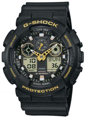 Casio G-Shock Armbanduhr Herrenuhr GA-100GBX-1A9ER