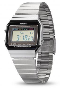 Casio Vintage Armbanduhr Digitaluhr A700WE-1AEF vorne