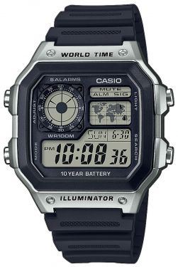 Casio Uhr Digital Uhr AE-1200WH-1CVEF