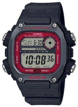Casio Digital Herren Armbanduhr DW-291H-1BVEF