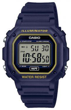 Casio Collection Digital Armbanduhr F-108WH-2A2EF