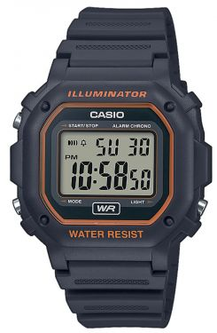 Casio Collection Digital Armbanduhr F-108WH-8A2EF