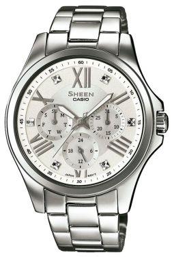 Casio Damenuhr Armbanduhr SHEEN SHE-3806D-7AUER