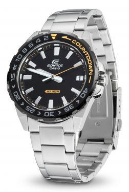 Casio Edifice Herren Armbanduhr EFV-120DB-1AVUEF Edelstahlband vorne