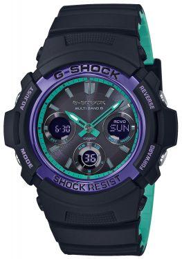 Casio G-Shock Armbanduhr AWG-M100SBL-1AER Funk Solar Uhr