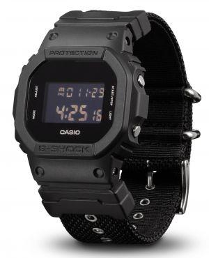 Casio G-Shock DW-5600BBN-1ER Digitaluhr Textilband vorne
