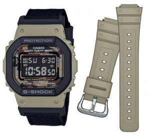 Casio G-Shock DW-5610SUS-5ER Digitaluhr Textilband Wechselarmband