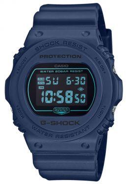 Casio G-Shock Armbanduhr DW-5700BBM-2ER Digitaluhr blau