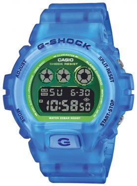 Casio G-Shock Armbanduhr DW-6900LS-2ER Digitaluhr blau