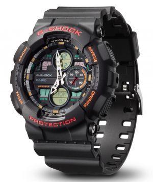 Casio G-Shock Armbanduhr GA-140-1A4ER Analog Digitaluhr vorne