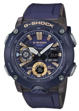 Casio G-Shock Uhr GA-2000-2AER Armbanduhr Karbonverstärktes Resingehäuse