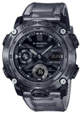 Casio G-Shock Uhr GA-2000SKE-8AER Armbanduhr schwarz transparent
