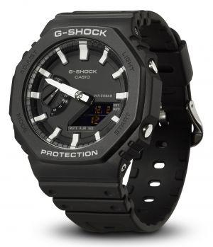 Casio G-Shock Uhr GA-2100-1AER Armbanduhr analog digital vorne