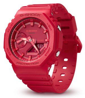 Casio G-Shock Uhr GA-2100-4AER Armbanduhr rot analog digital NEU