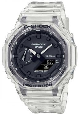 Casio G-Shock Uhr Armbanduhr GA-2100SKE-7AER transparent