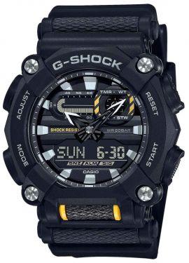 Casio G-Shock Uhr GA-900-1AER Armbanduhr schwarz