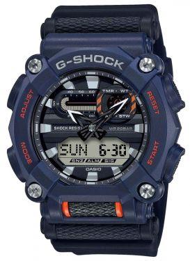 Casio G-Shock Uhr GA-900-2AER Armbanduhr blau