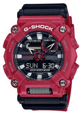 Casio G-Shock Uhr GA-900-4AER Armbanduhr rot schwarz