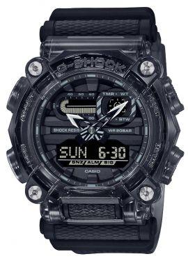 Casio G-Shock Uhr GA-900SKE-8AER Armbanduhr schwarz transparent