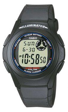 Casio Uhr F-200W-1AEG Herren Collection Digital-Uhr