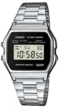 Casio Retro Uhr A158WEA-1EF Alarm Stoppuhr digital Digitaluhr