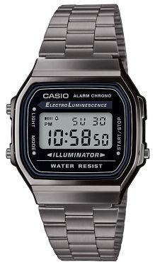 Casio Vintage Armbanduhr A168WEGG-1AEF Digitaluhr Since 1974