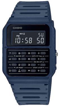 Casio Vintage Armbanduhr Taschenrechner-Uhr CA-53WF-2BEF blau